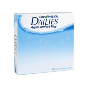 Focus Dailies AquaComfort Plus 90 pack