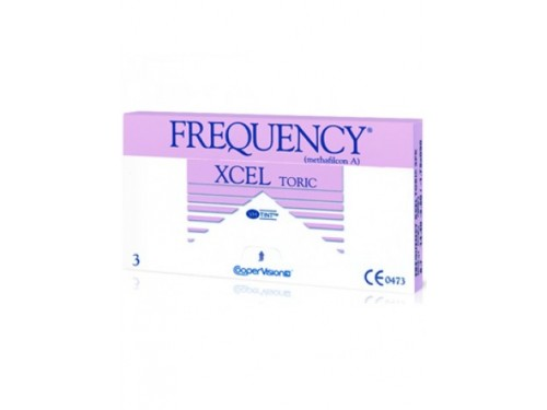 Frequency Xcel Toric XR 3 pack